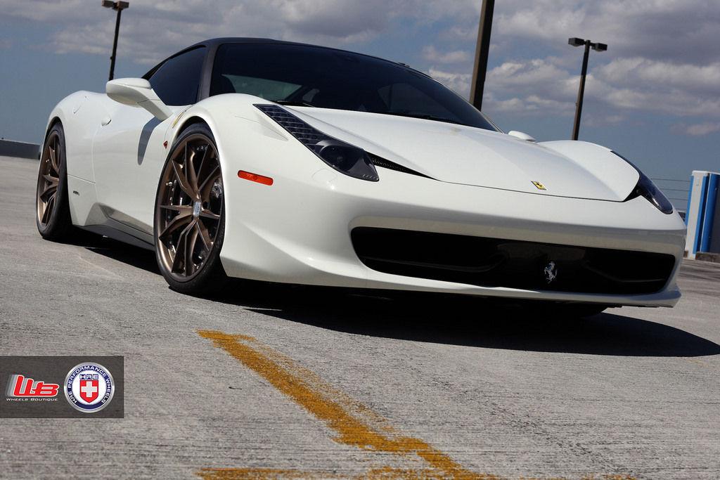 Ferrari 458 Italia | Ferrari 458 on HRE S104