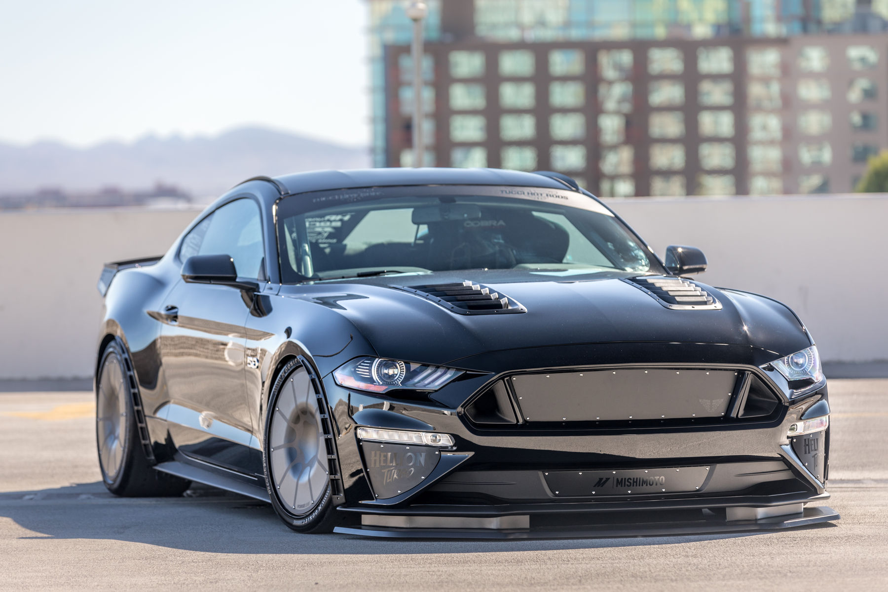 2018 mustang fastback by tucci hot rods front shot fordsema