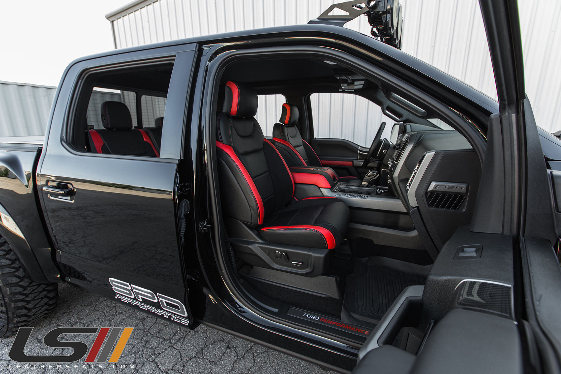 Ford Raptor Interior >> 2017 Ford F 150 Raptor Interior By Leatherseats Com