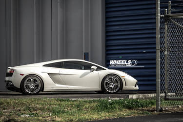 "2009 Lamborghini Gallardo | OUR CLIENT'S LAMBORGHINI GALLARDO WITH 19"" ASANTI AF-173 WHEELS"