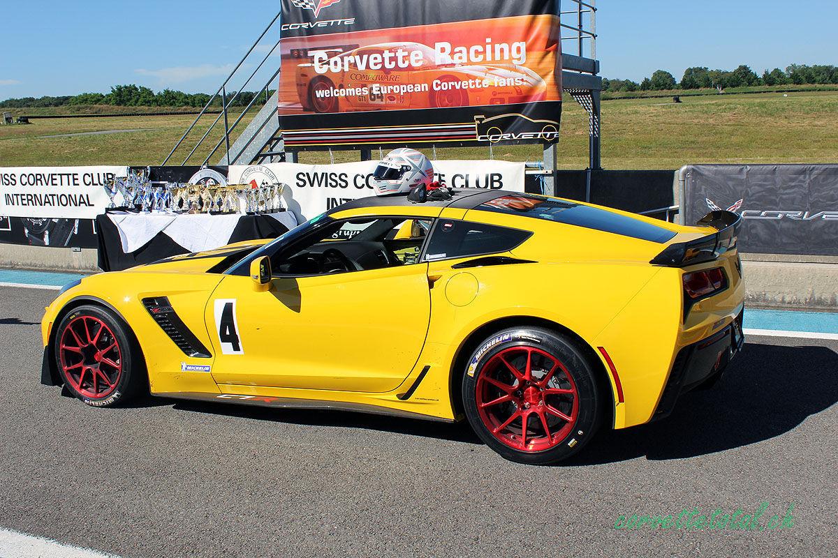 2016 Chevrolet Corvette Z06 | Swiss C7.R C7 Corvette Z06 on Forgeline One Piece Forged Monoblock GS1R Wheels