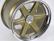 Forgeline Heritage Series RS6 Centerlock Wheel in Gold