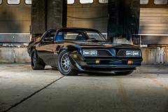 Tony Schumacher's Pro-Touring 1977 Pontiac Trans Am on Forgeline DE3C Concave Wheels