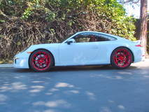 991 C4S on Forgeline GA1R Wheels