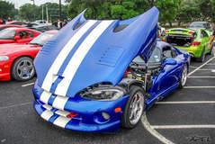 Dodge Viper! at Cars and Coffee San Antonio