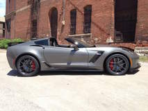 Scott Kelly's C7 Corvette Z06 on Forgeline One Piece Forged Monoblock VX1 Wheels