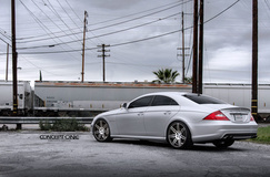 2011 Mercedes-Benz CLS55 on Concept One CSM7's