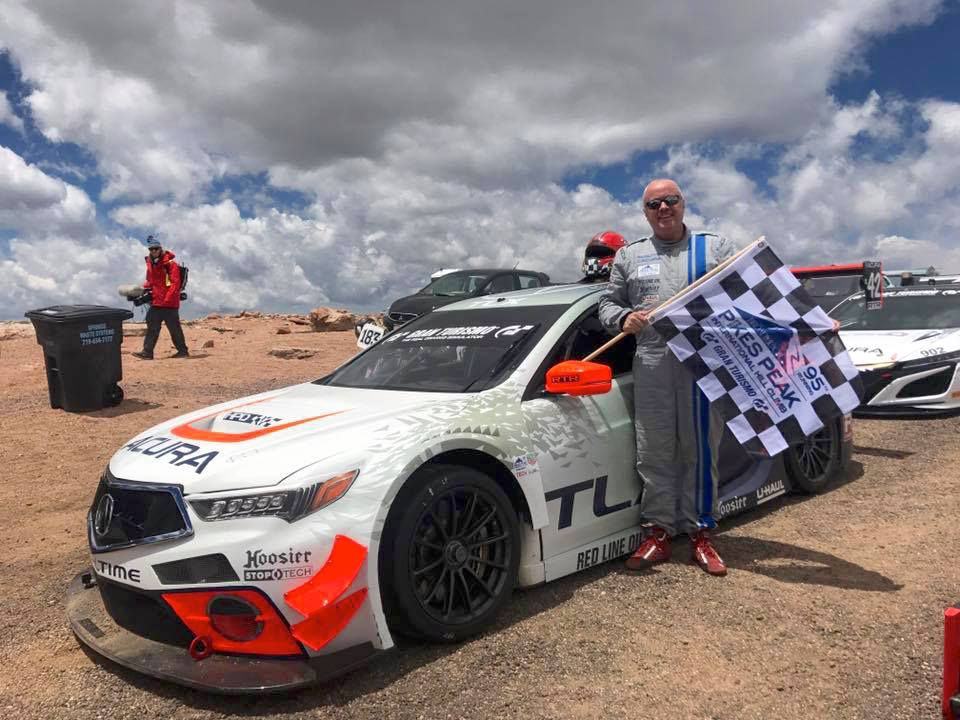 2017 Acura TLX   RealTime Racing Sets Course Record at Pikes Peak International Hill Climb on Forgeline One Piece Forged Monoblock GTD1 Wheels