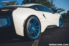Gerald's BMW i8 on Forgeline One Piece Forged Monoblock AR1 Wheels