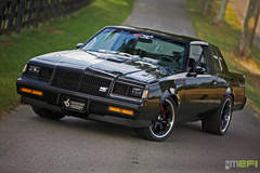 Rich Townsend's '87 Buick Grand National on Forgeline CV3C Concave Wheels