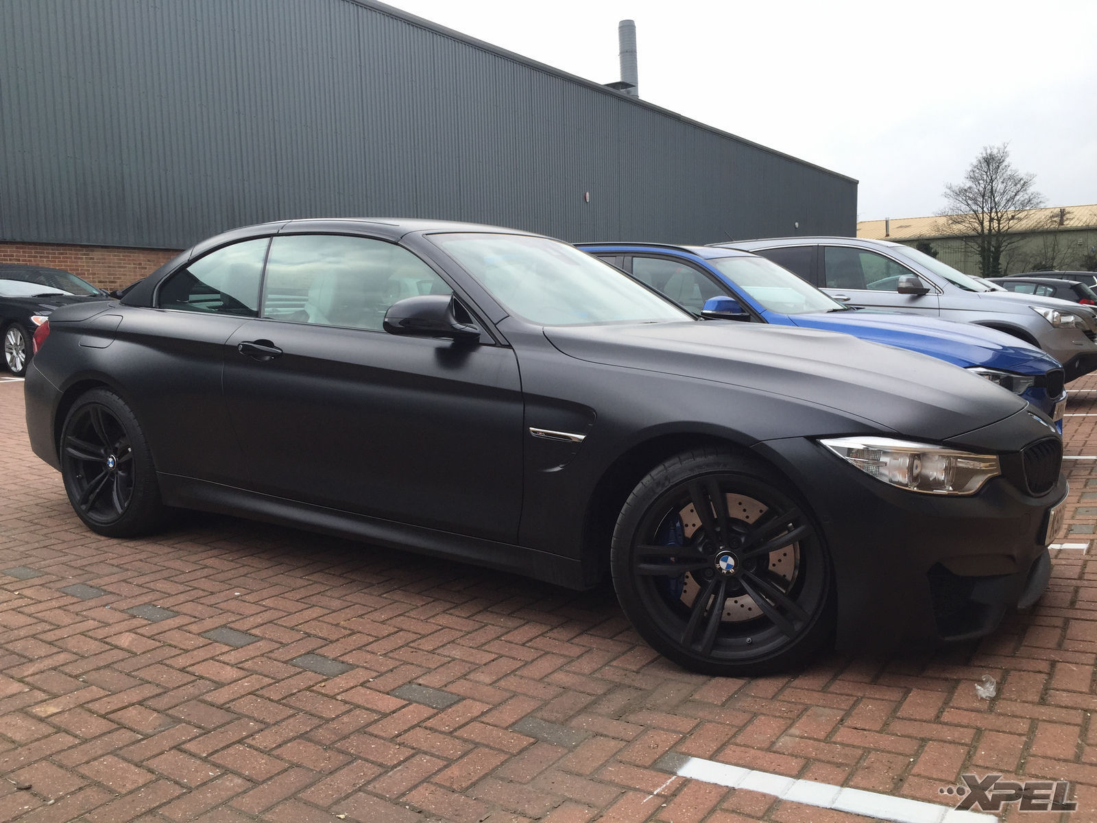 BMW M4 | XPEL STEALTH Satin-Finish clear bra installation