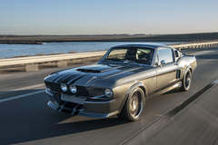 Classic Recreations GT500CR 1967 Shelby GT500 Mustang on Grip Equipped Grudge Wheels