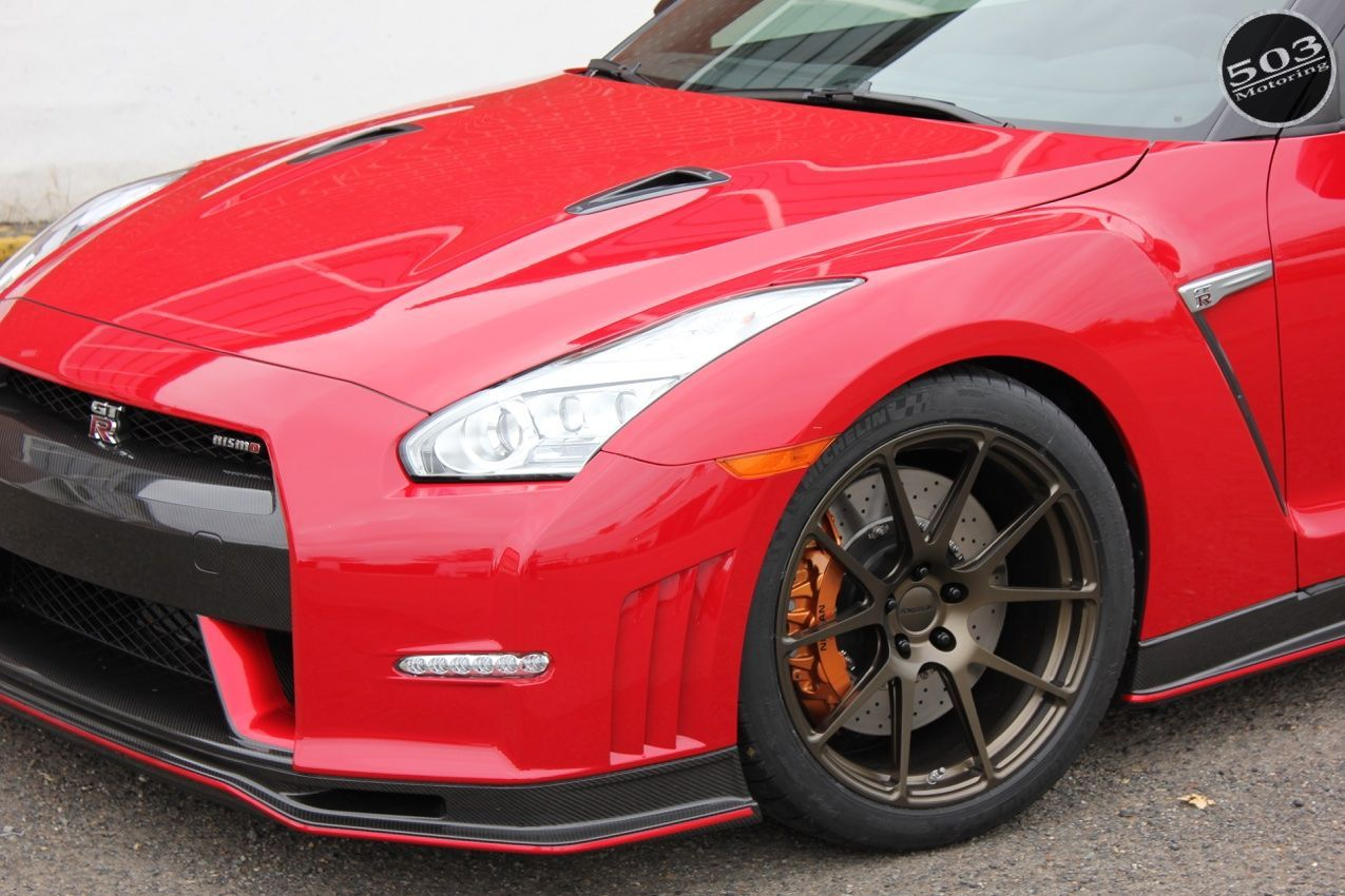 2015 Nissan GT-R | Perrin Performance GT-R on Forgeline GA1R Wheels