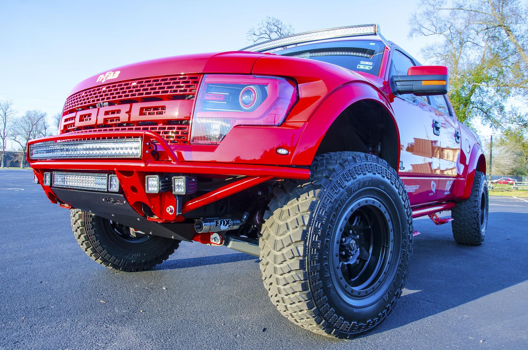 2012 Ford Raptor   N-FAB Ford Raptor Build