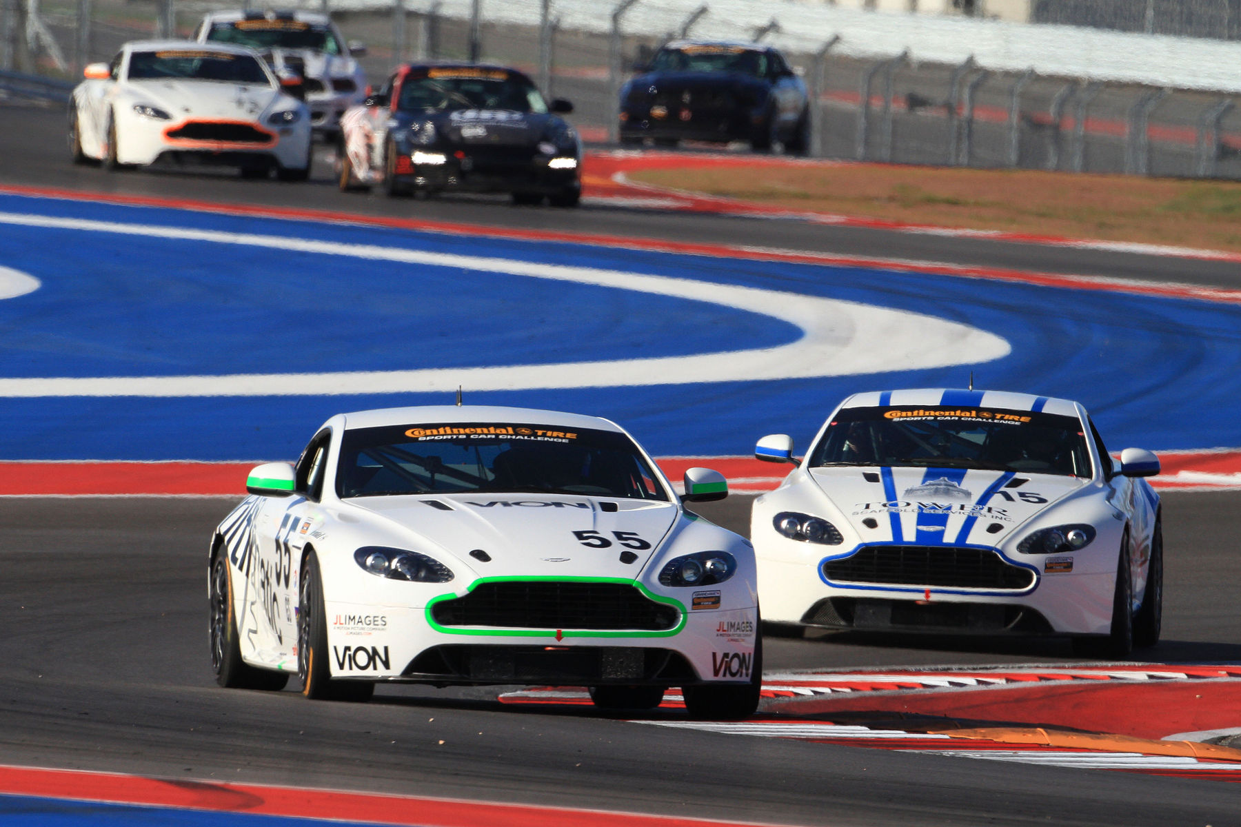 | Making the new COTA look easy as they breeze through the course on their Continental Tires