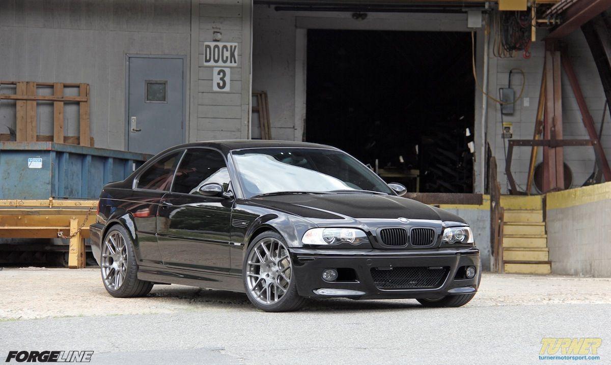 2004 BMW M3 | Turner Motorsport E46 M3 on Forgeline One Piece Forged Monoblock SE1 Wheels