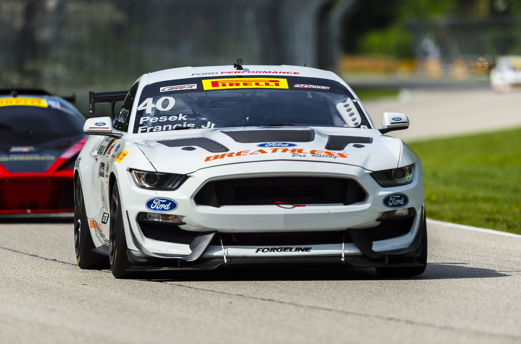 2017 Ford Mustang | Forgeline Teams Dominate Front Row at Pirelli World Challenge Road America