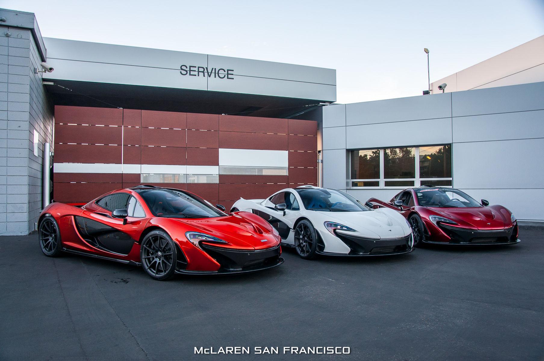 McLaren P1 | 3 McLaren P1s @ McLaren San Francisco