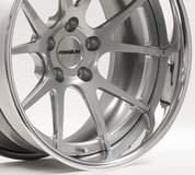 Forgeline GA3C Concave Wheel in Hyper Silver Powder Coat