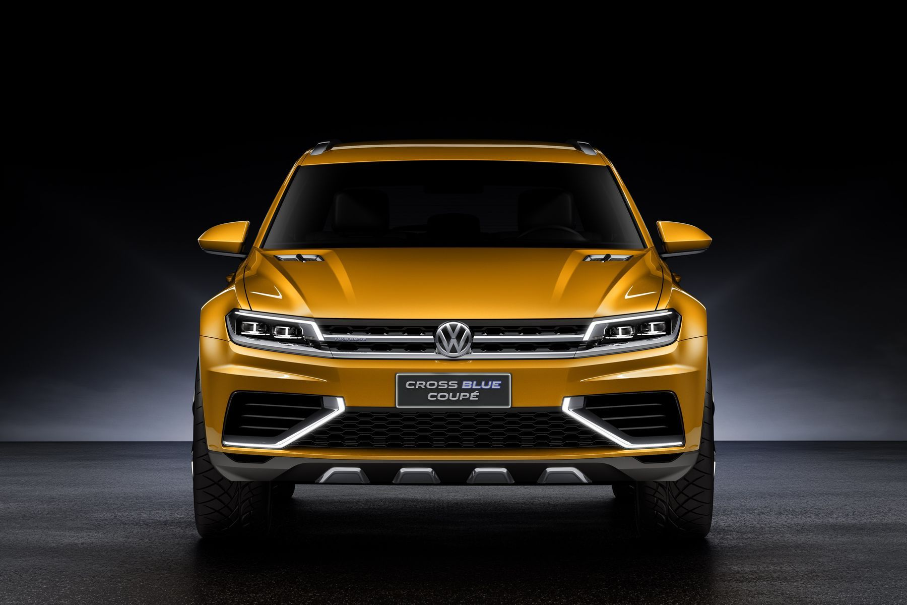 Volkswagen  | VW Cross Blue Coupe Concept