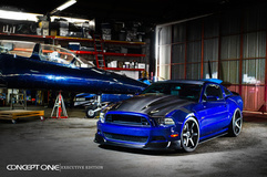 '13 Ford Mustang on Concept One CS6'0's