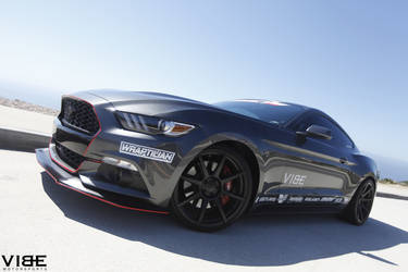 2015 Ford Mustang | '15 EcoBoost Mustang on 20's - Front Wheel Shot