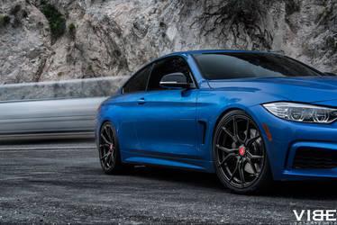 2014 BMW 4 Series   2014 BMW 435i featuring Vorsteiner Wheels