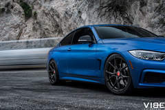 2014 BMW 435i featuring Vorsteiner Wheels
