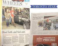 High School Hot Rod in the Toronto Star
