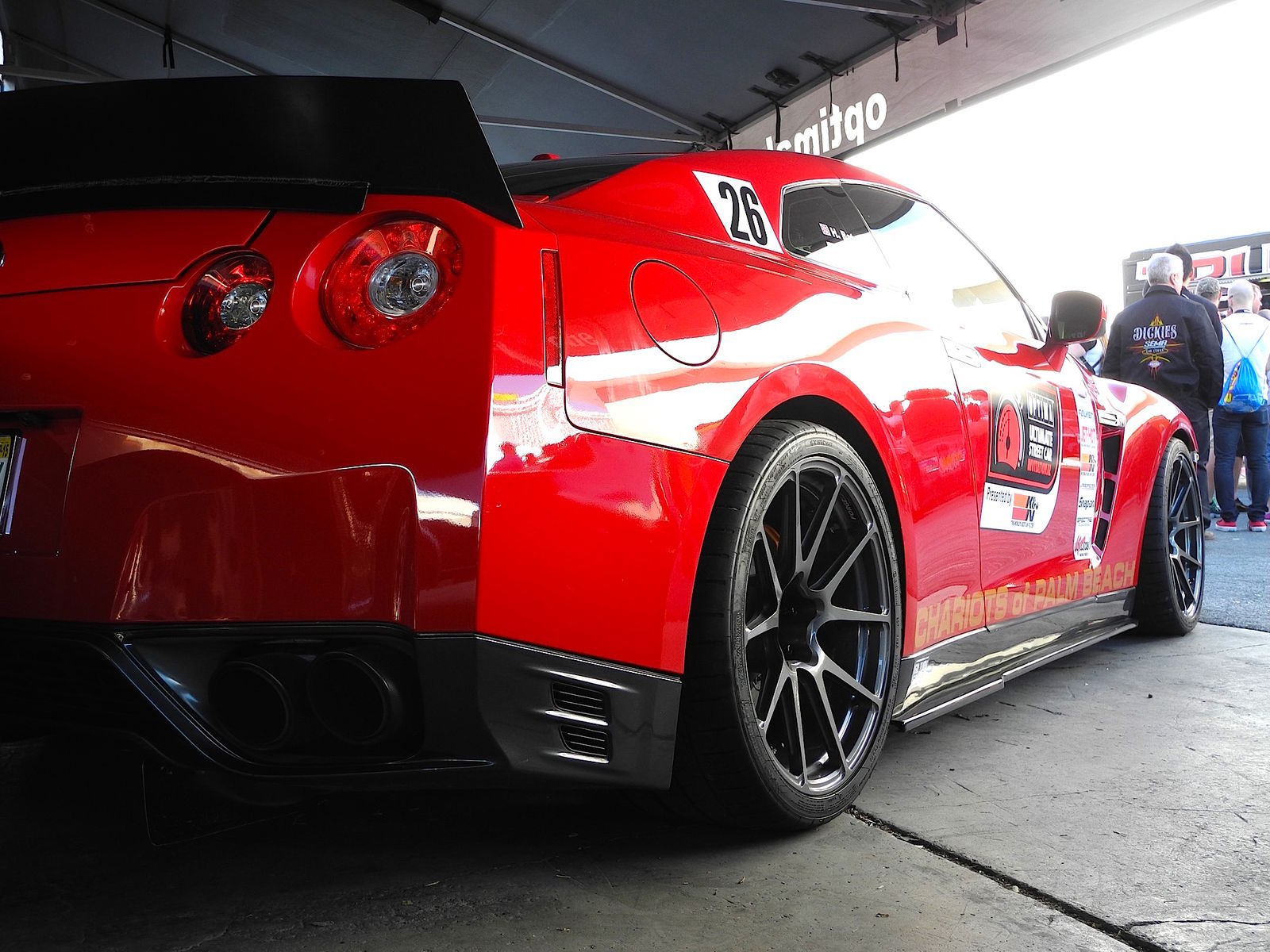 2013 Nissan GT-R | Nissan GT-R on Forgeline GA1R Open Lug Wheels