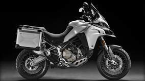 Multistrada 1200 Enduro - Silver Side Angle