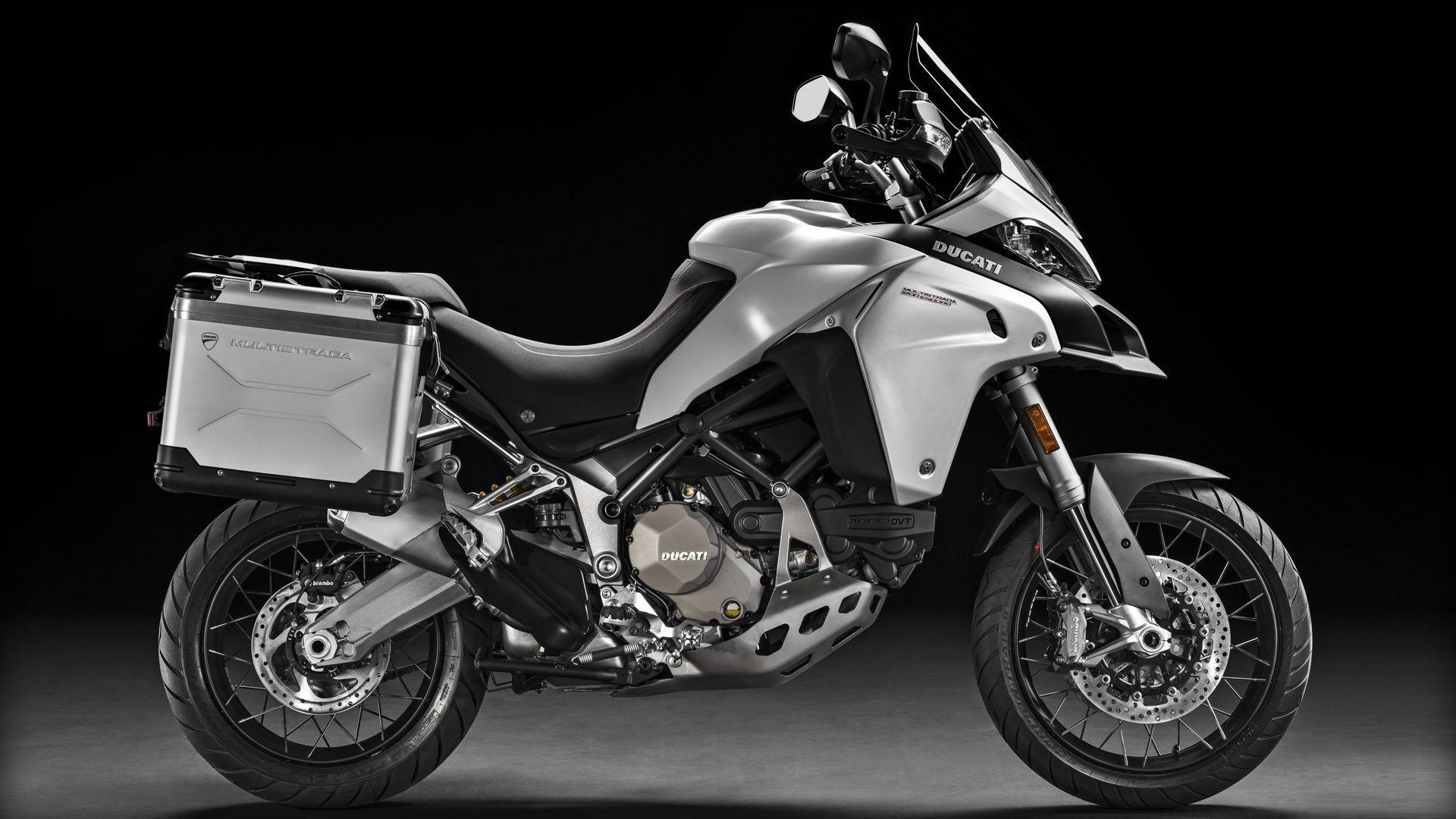2016 Ducati Multistrada 1200 Enduro   Multistrada 1200 Enduro - Silver Side Angle