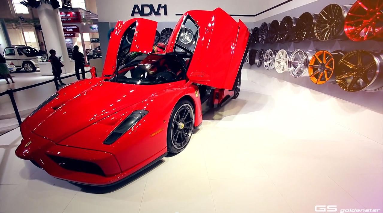 Ferrari Enzo   ADV.1 Wheels Beijing Golden Star CIAPE 2013 Show