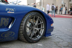 Jake Rozelle's C5 Corvette Z06 on Forgeline One Piece Forged Monoblock VX1R Wheels