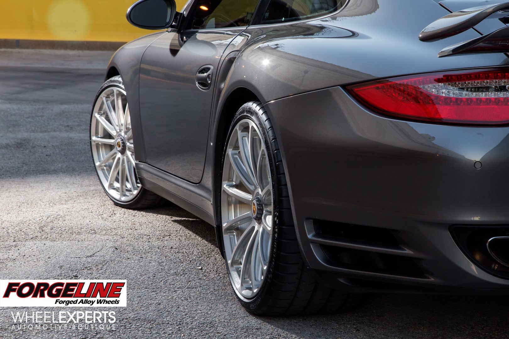 2013 Porsche 911 | Wheel Experts 997 Porsche 911 Turbo on Forgeline One Piece Forged Monoblock GT1 Wheels