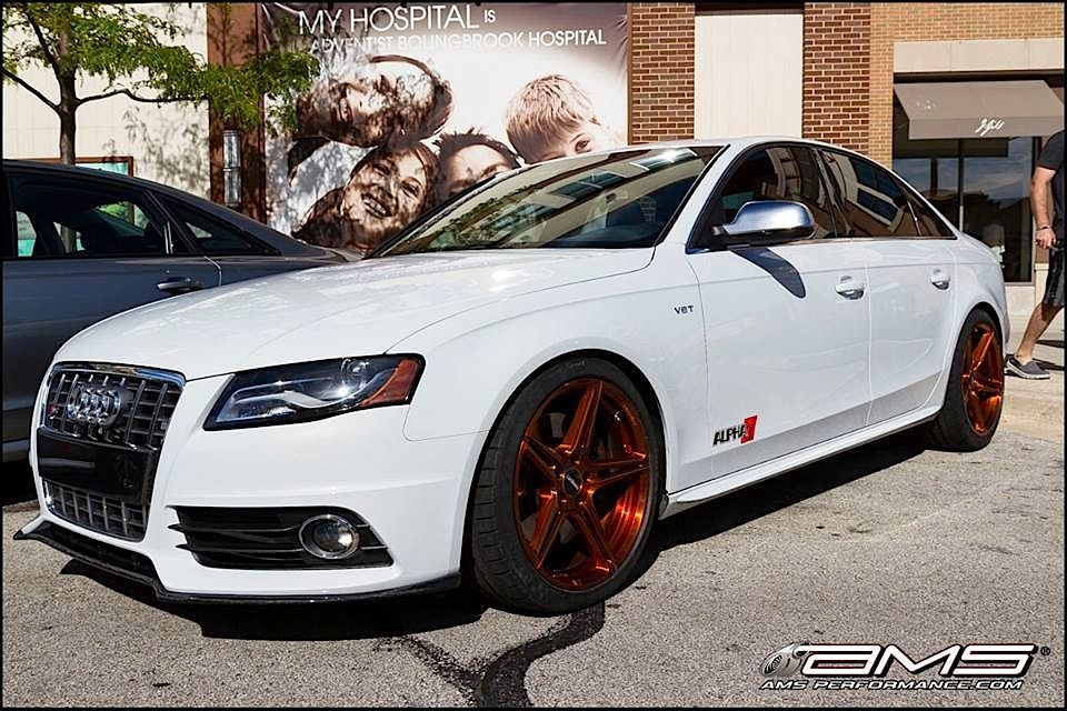 2014 Audi S4 | Audi B8 S4 from AMS Performance on Forgeline SC1 One Piece Forged Monoblock Wheels