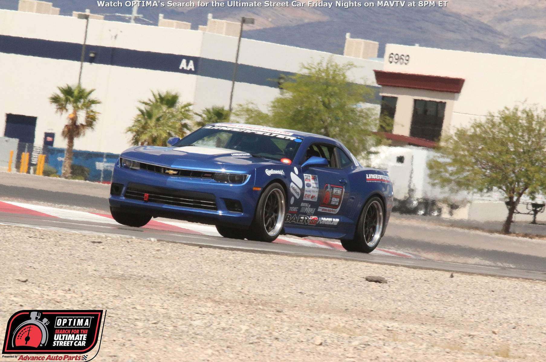 2010 Chevrolet Camaro |  Danny Popp in the LPE Camaro on Forgeline GA3 Wheels