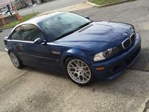 BMW E46 M3 on Forgeline One PIece Forged Monoblock SE1 Wheels