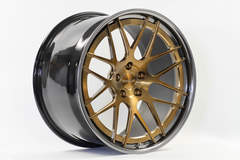 Forgeline DE3C-SL Stepped Lip Concave in Tinted Gold Transparent
