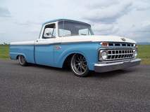 Ford 100 Truck on Forgeline ZX3P Wheels
