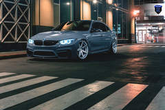 BMW M4 - Gray Front Angle