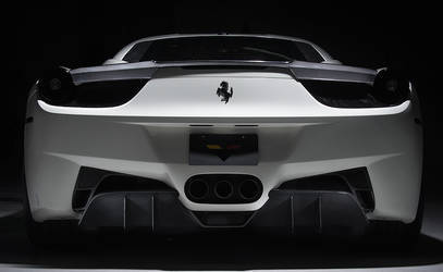 Ferrari 458-V Rear Diffuser