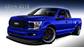 2018 Ford F-150 4x2 SuperCab by ZB Southern Ground/Kurt Busch - Rendering FordSEMA