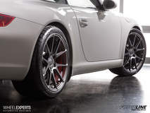 Porsche 997 Carrera S on Forgeline One Piece Forged Monoblock GA1R Wheels