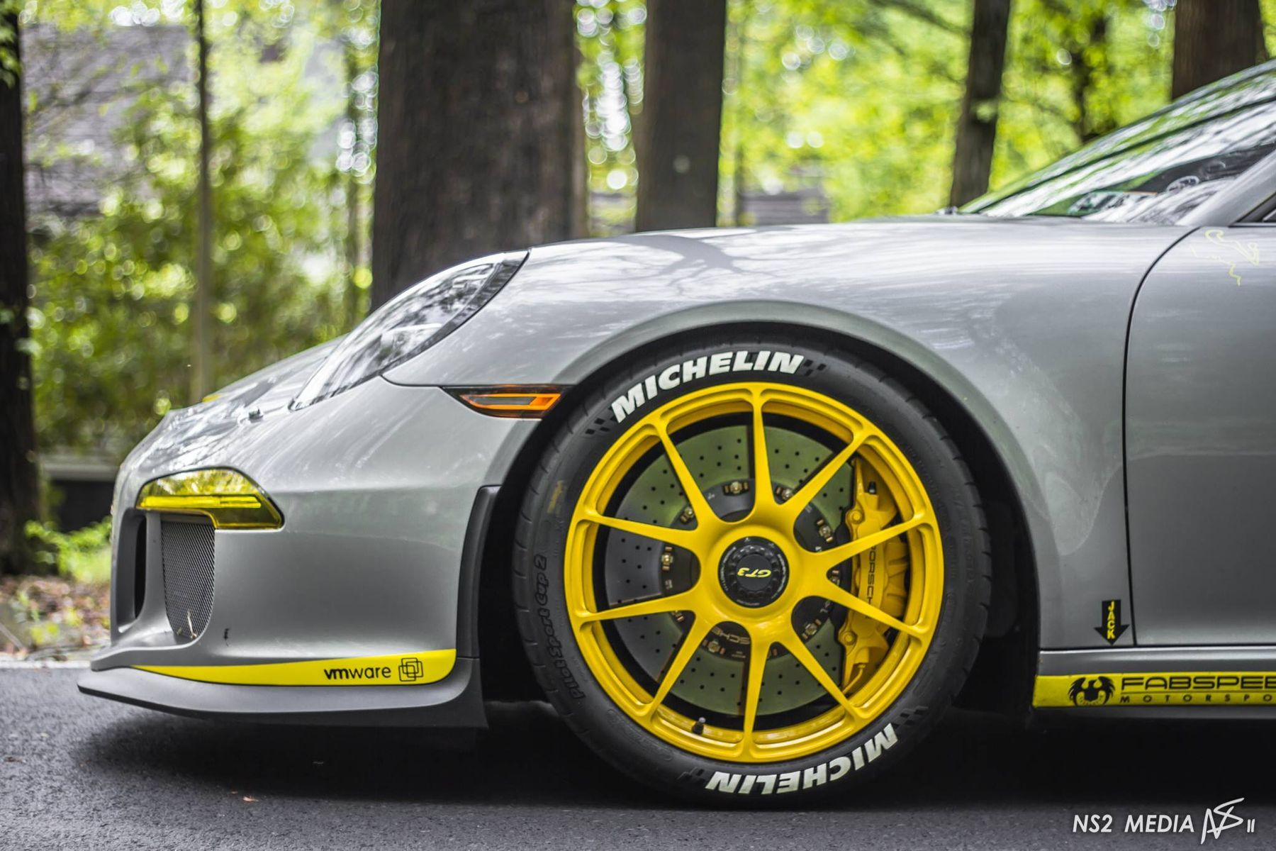 2016 Porsche 911 | Phil T's Porsche 991 GT3 With PCCB Ceramic Brakes on 19-inch Forgeline One Piece Forged Monoblock GA1R Centerlock Wheels