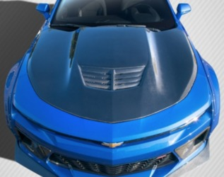 Chevrolet Camaro Carbon Creations DriTech Grid Hood - 1 Piece