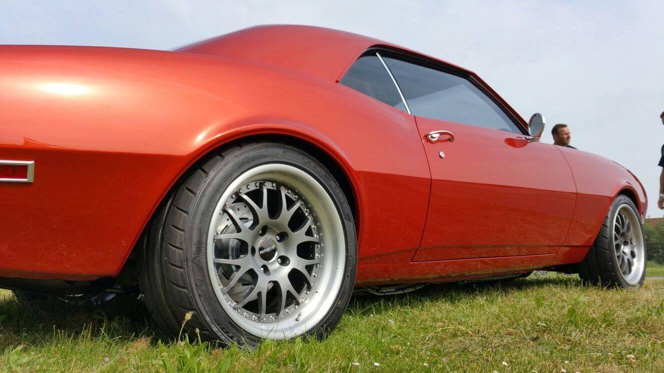 1968 Chevrolet Camaro | Erik Kuit's Burnt Orange '68 Camaro on Forgeline WC3 Wheels