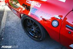 Mary Pozzi's '73 Camaro on Forgeline GA3 Wheels at the 2015 SEMA Show