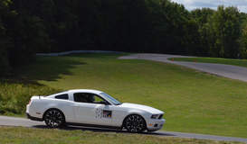 Mustang at Grattan