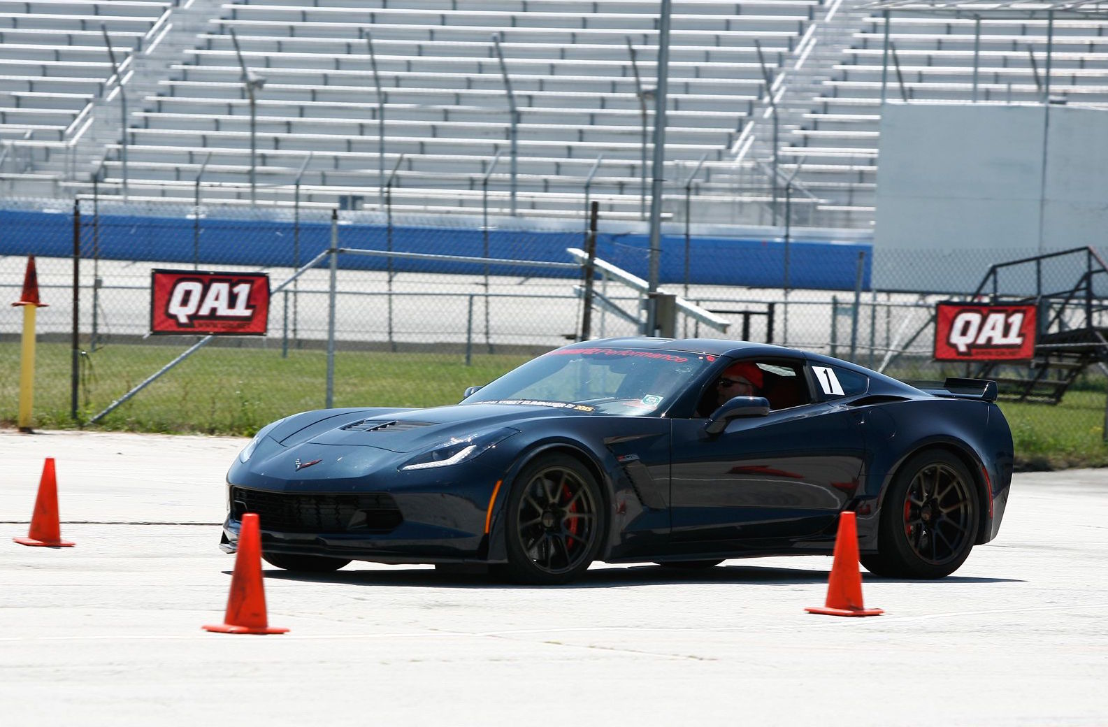 2015 Chevrolet Corvette Z06 | Schwartz Performance C7 Z06 Corvette on Forgeline GA1R Open Lug Cap Edition Wheels